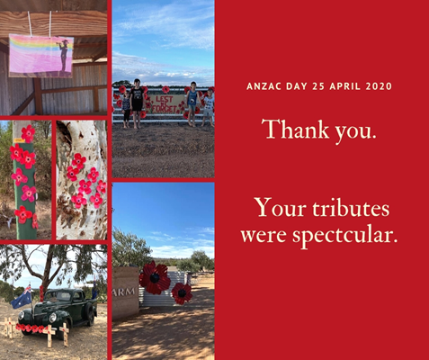 Images from the Community - Thank You to the Farm Gate Tributes