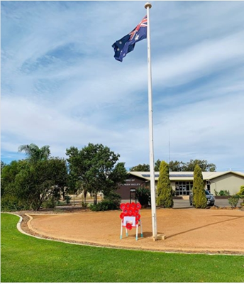 Images from the Community - ANZAC Tribute Shire Office